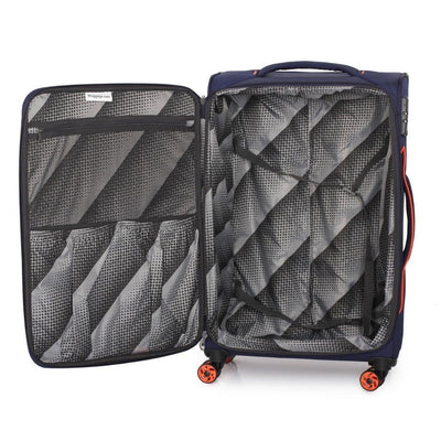 IT Luggage - Megalite Bold 70cm Medium Softsided Luggage - Navy