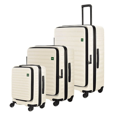 Lojel Luggage Lojel Cubo Hardsided Luggage Set of 3 - White