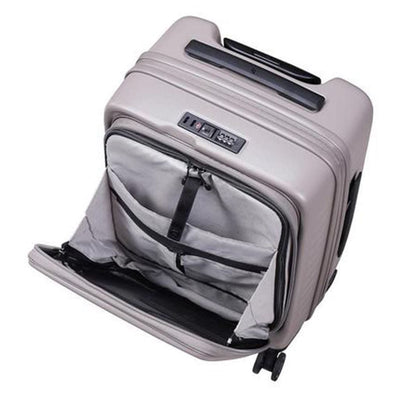 Lojel Cubo Carry On 54cm Hardsided Luggage - Warm Grey
