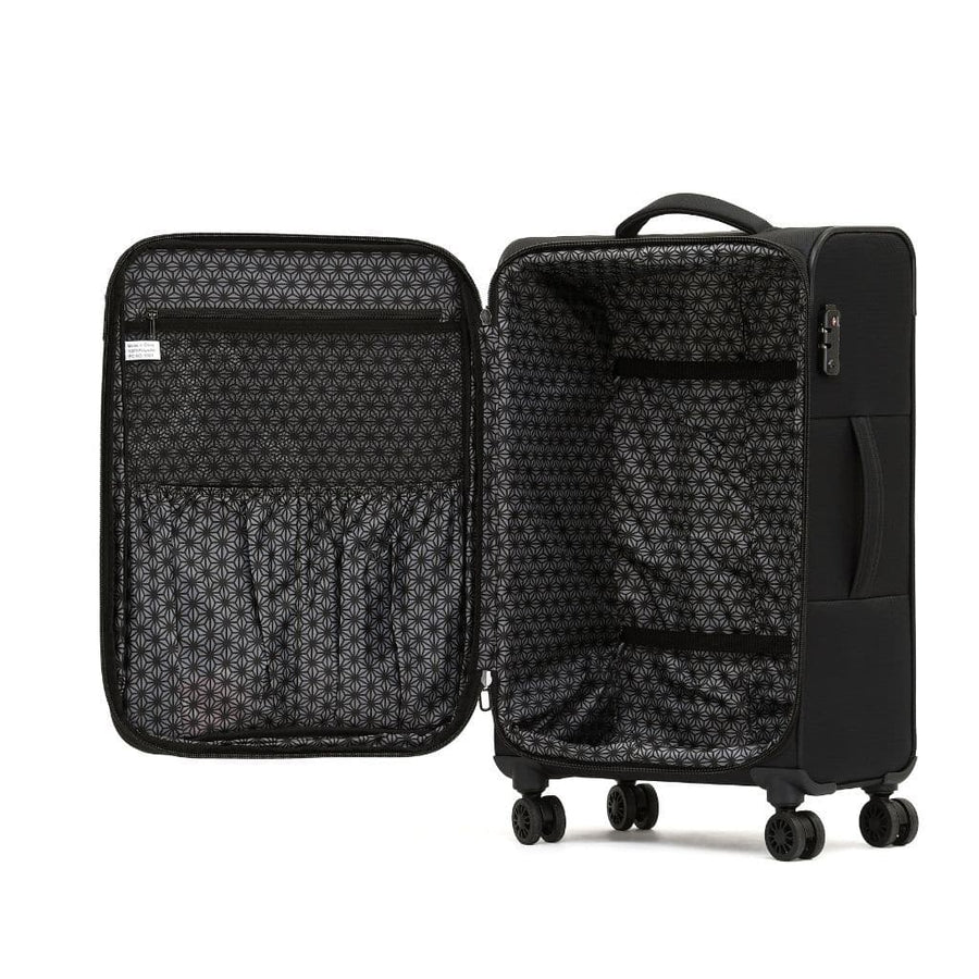 Tosca So Lite 3.0 Large Softsided Spinner Suitcase - Black