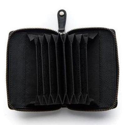 Stitch & Hide Stitch & Hide Hunter Leather Wallet - Black