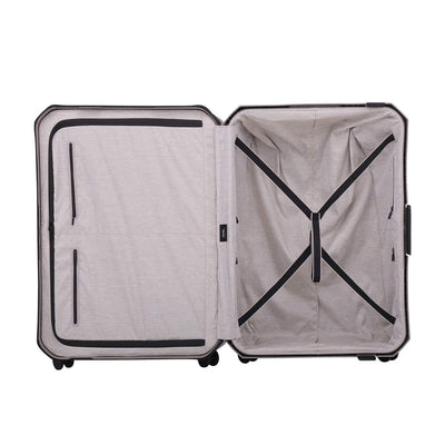 Lojel Voja 2 Piece Duo Carry On & Large Hardsided Luggage Grey