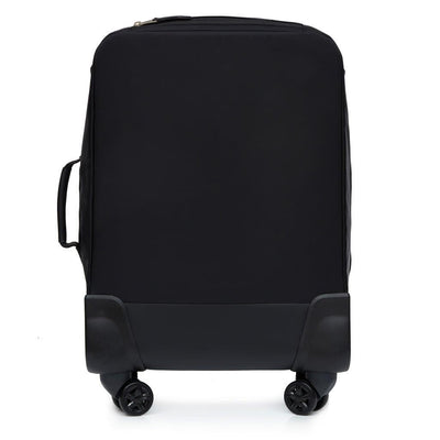 "Knomo Mayfair Parklane 4 Wheel Board Tote 15"" Luggage Black"
