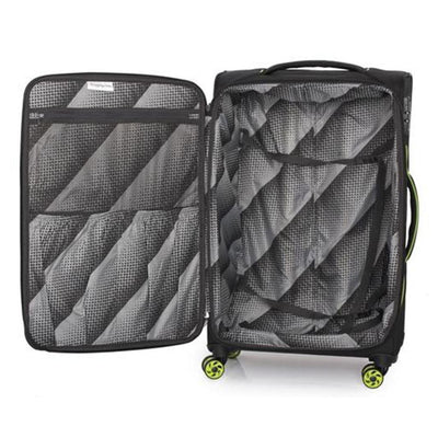 IT Luggage - Megalite Bold 79cm Large Softsided Luggage - Black