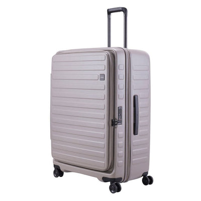 Lojel Luggage Lojel Cubo Extra Large 77cm Hardsided Luggage - Warm Grey