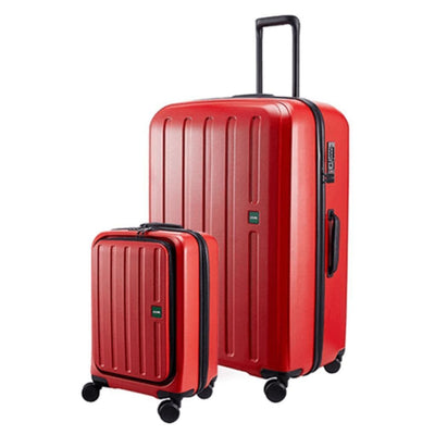 Lojel Luggage Lojel Lucid 2 Hardside Duo luggage Carry On / Large - Red