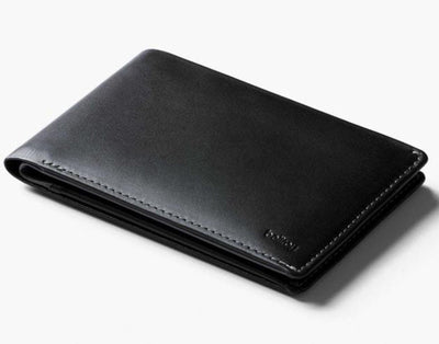 Bellroy RFID Travel Wallet Leather - Black love luggage Bellroy