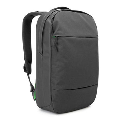 Compact Laptop Backpack in black