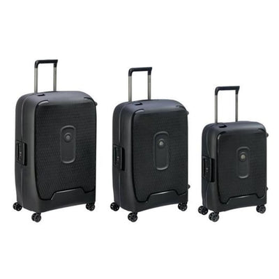 Delsey Moncey 3 PC Hardsided Luggage Set Anthracite