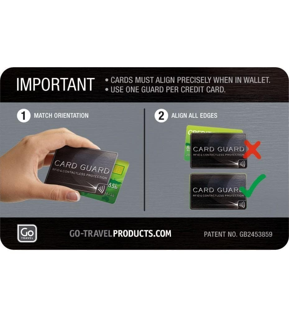 Go Travel Twin pack Card Guard | On Sale | Fast Shipping