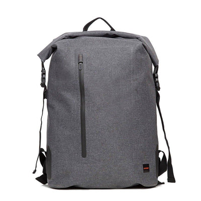 "Knomo Thames Cromwell Backpack 14"" Roll Top - Grey"
