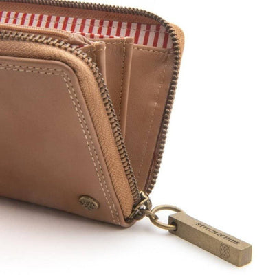 Stitch & Hide Stitch & Hide Christina Classic Collection Wallet - Latte