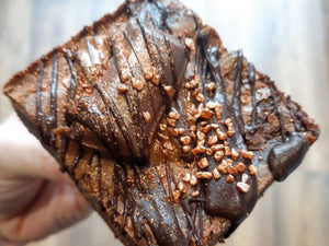 Salted Caramel Chocolate Fudge Brownie