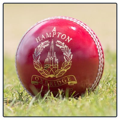 HAMPTON MEN'S CRICKET BALL - Red