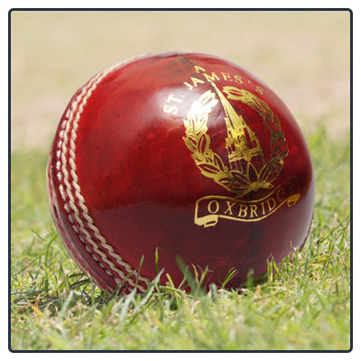 ST. JAMES MEN'S CRICKET BALL - Red