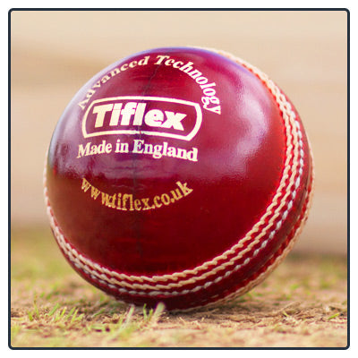 THE TIFLEX CRICKET BALL - Red