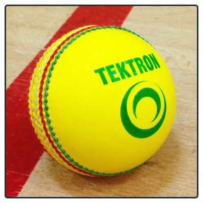 INDOOR CRICKET BALL - Yellow