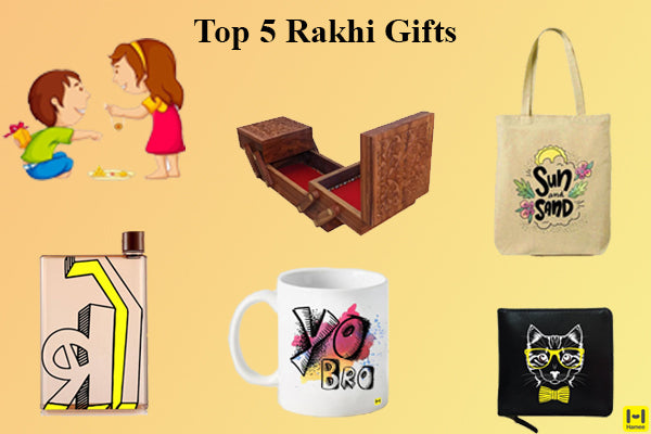 Top 5 Rakhi Gifts for Your Brothers and Sisters