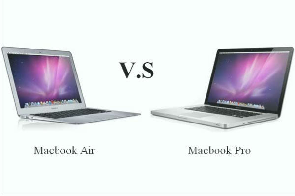 Difference between 13 inch MacBook Air and 13 inch MacBook Pro