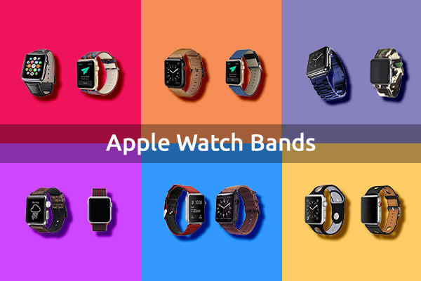 6 Types of Apple Watch Bands that Suits your Style