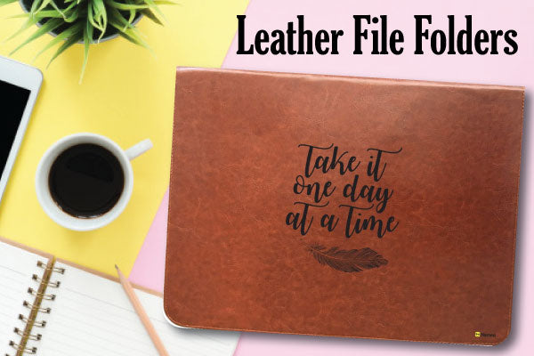 Leather File Folders to Keep Documents Safe