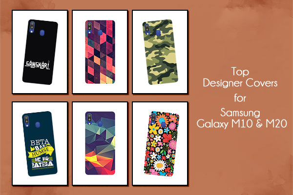 4 Best Designer Cases and Covers for Samsung Galaxy M10 & M20