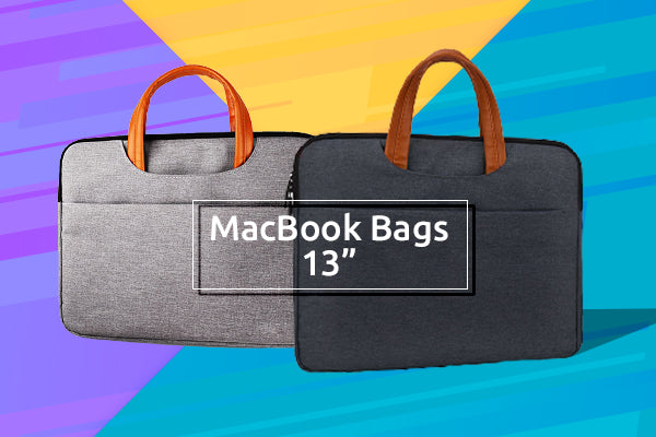 Add-on an Aesthetic Appeal with the New MacBook Bags for Your 13 inch MacBooks