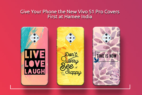Give Your Phone the New Vivo S1 Pro Covers First at Hamee India