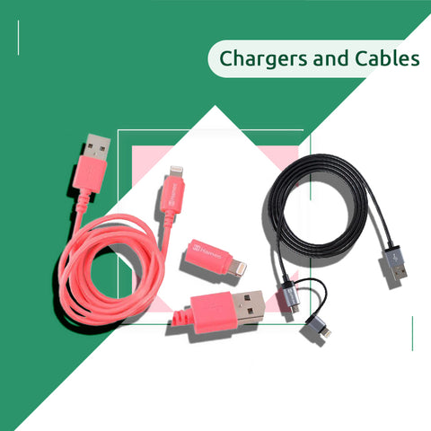 Chargers and Cables