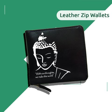 Leather Zip Wallets