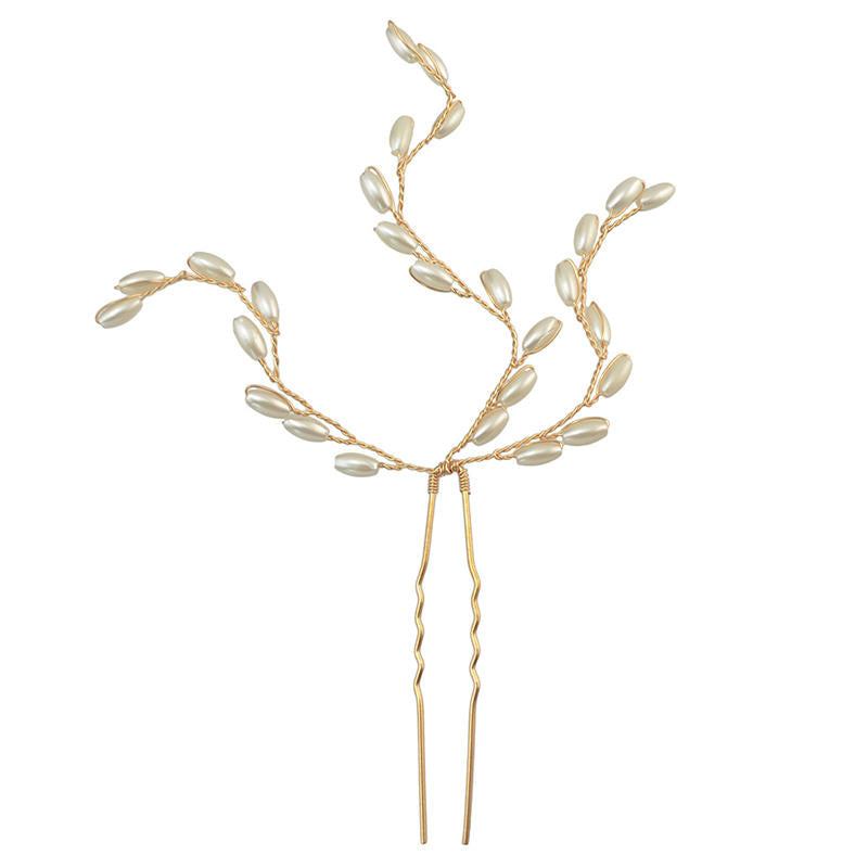Pearl Drops Hair Pin Accessory