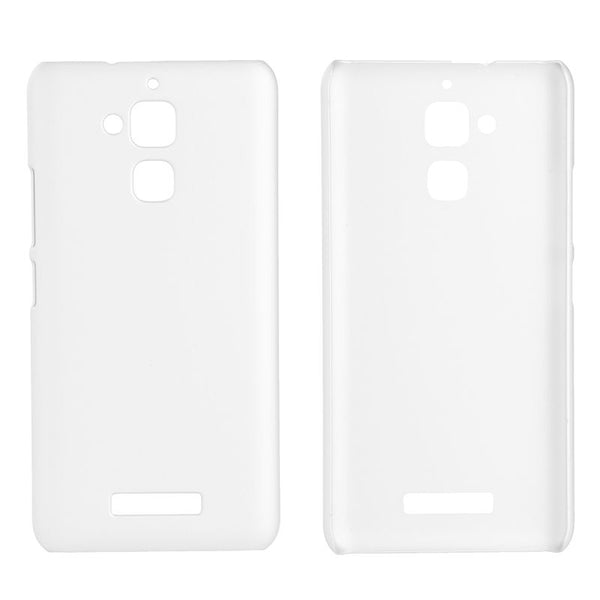 Hamee High Quality Back Case for Asus Zenfone 3 Max (White)-Hamee India