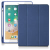 "Beardo - iPad 9.7"" Folio Case with Pencil Holder (Blue)"