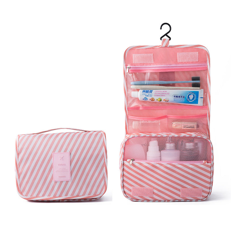 Hanging Travel Organizer - Pink-Hamee India