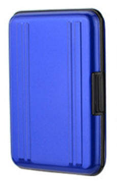 24 Slot Holder Storage Case for CF / Micro / SD Card (Metallic Blue)