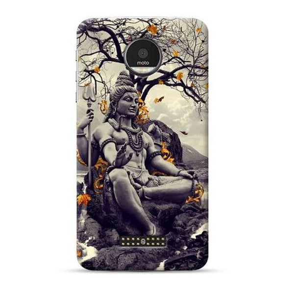 Hamee Official - Buddh 2 - Lafula Designer Printed Hard Back Case for Moto E4