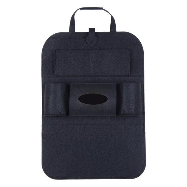 Multi-Pocket Seat Back Organizer (Black)