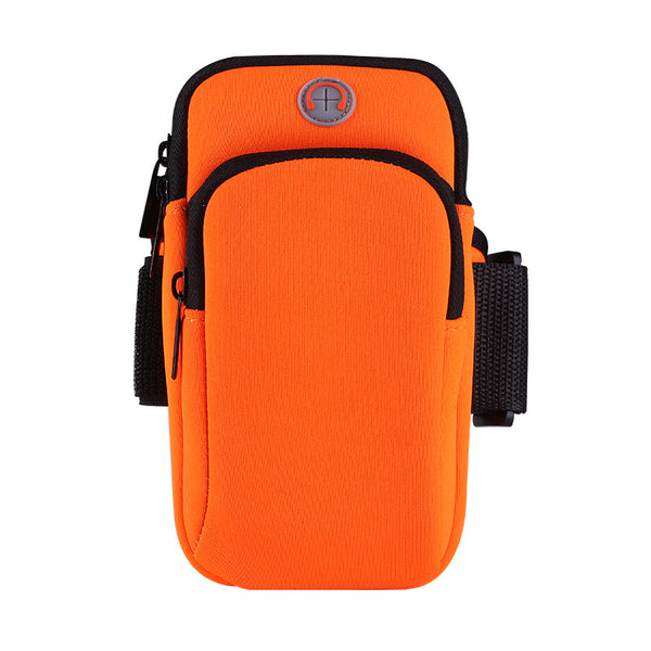 Sporty Armband Smartphone Holder - Orange