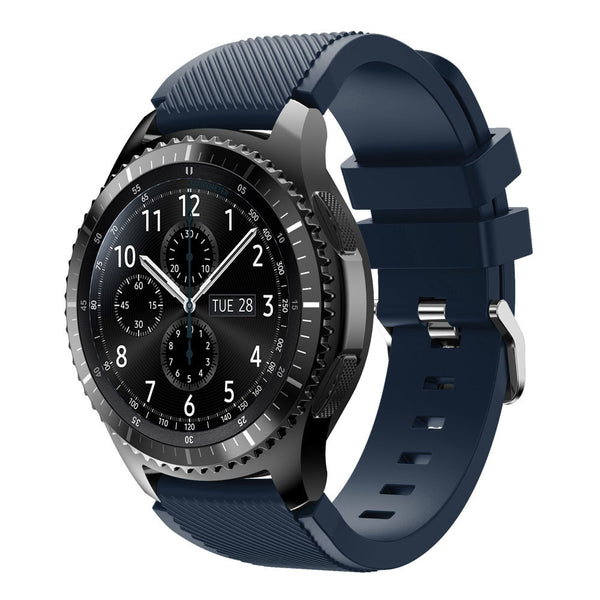 Royal Blue Silicon Strap - Samsung S3 (42 mm)