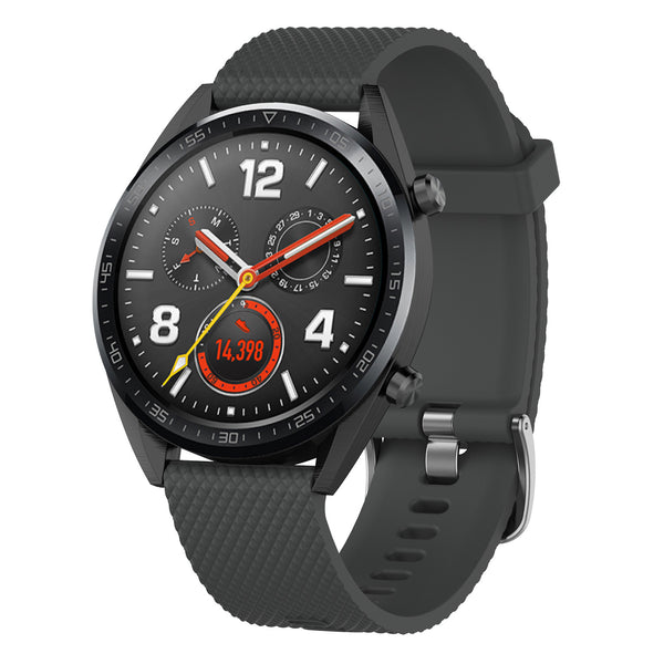 Grey Silicon Strap - Huawei GT 2 (2019)(46mm)
