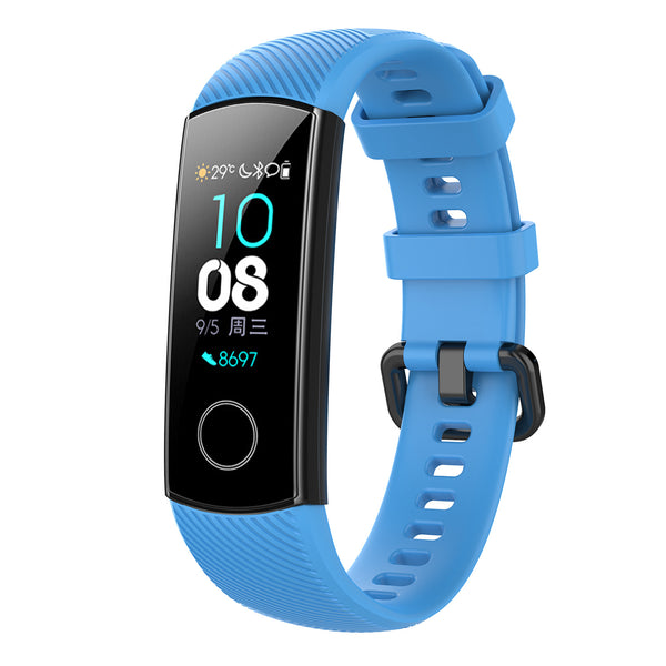 Honor Band 5 TPU Wrist Strap - Blue