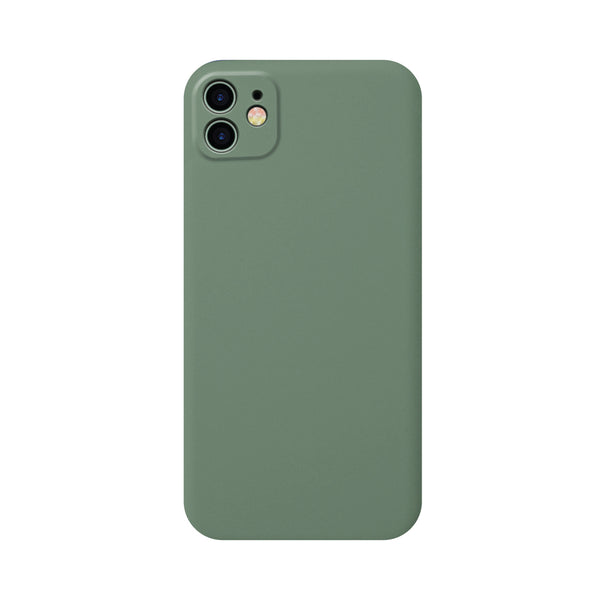 Full Body Silicone Case for iPhone 11 - Dark Green