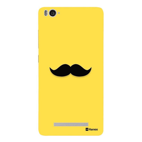 Yellow Moochie Redmi 3 / 3s Back Cover-Hamee India