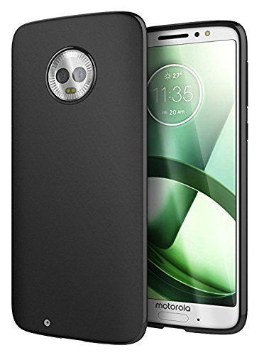 BLACK SOFT TPU CASE FOR MOTO G6-Hamee India