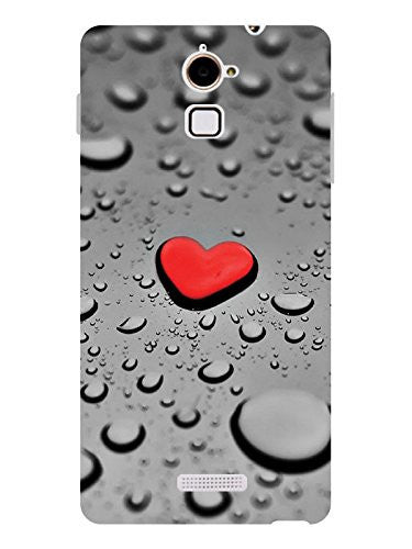 [Sale 99] Hamee Heart Designer Cover for Coolpad Note 3 Lite - Hamee India