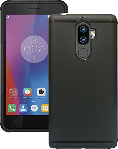 Black TPU Back Cover for Lenovo K8 Note | Hamee India