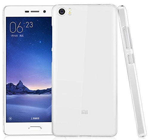 Hamee Premium Silicon Soft Clear Case for Mi 5-Hamee India