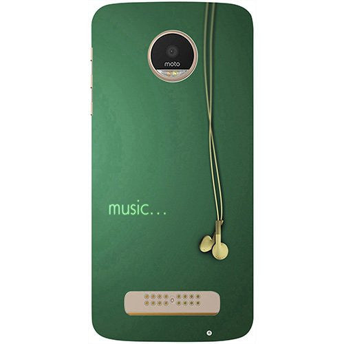 Hamee Music Design 3D Printed Hard Back Case Cover for Motorola Moto G5