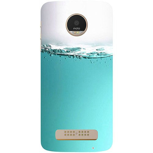 Hamee Half Fill Design 3D Printed Hard Back Case Cover for Motorola Moto G5