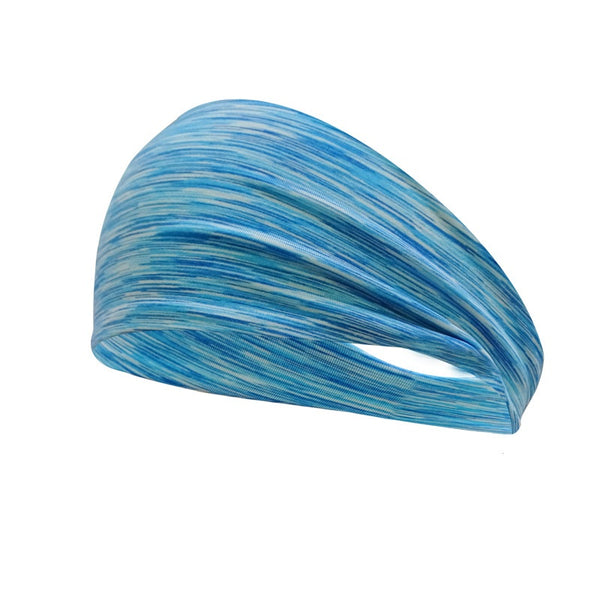 Sweat Proof Headband - Light Blue